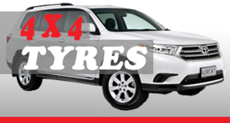 Picture for category 4 x 4 Tyres